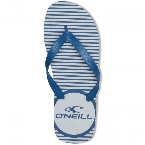 O'Neill Profile Logo Herren Zehenstegsandale blau (blue aop)