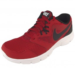 Nike Flex Experience 3 Boy Running Shoes gym red/black