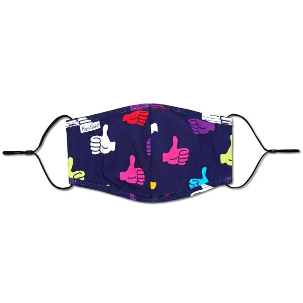 Happy Socks Thumbs Up Face Cover Unisex Gesichtsmaske Mehrfarbig