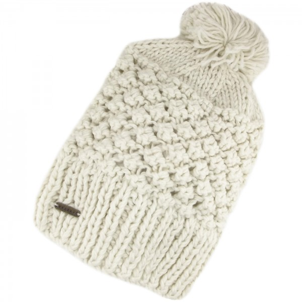 Brekka Bubble Long Damen Winterbeanie wei