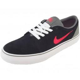 Nike Satire Herren Skate-Sneaker schwarz/grau/rot (black/lsrcrm)