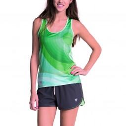 Desigual Heleia Damen Sport Shirt türkis (beach glass)
