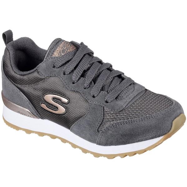 Skechers OG 85 Goldn Gurl Damen Retro-Sneaker grau (charcoal)