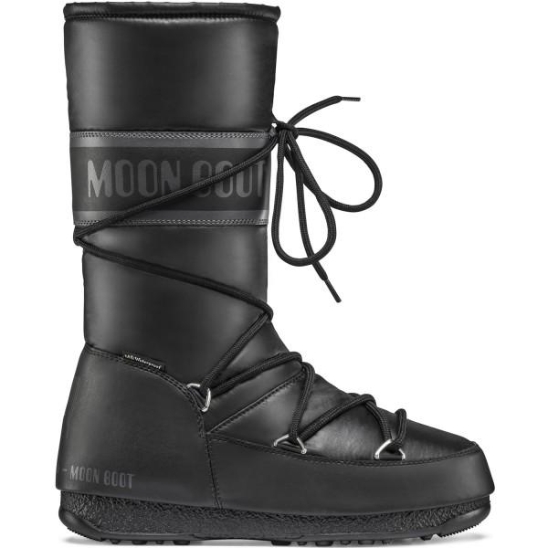 Moon Boot High Nylon WP Damen Winterstiefel schwarz (black)