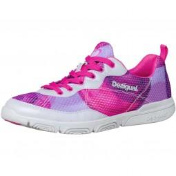 Desigual Infinity Damen Trainingsschuhe pink/mehrfarbig (lavender)