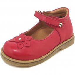 Froddo G2140020 Mädchen Mary Jane Schuhe rot (red)