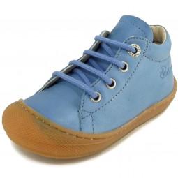 Naturino 3972 Kleinkinder Schnürschuhe blau (jeans)