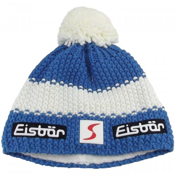 Eisbär Star Pompon SP Kids Child Winter Cap blue white blue  136980291636