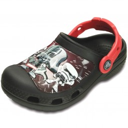 Crocs Star Wars Darth Vader Jungen Clogs schwarz (black)
