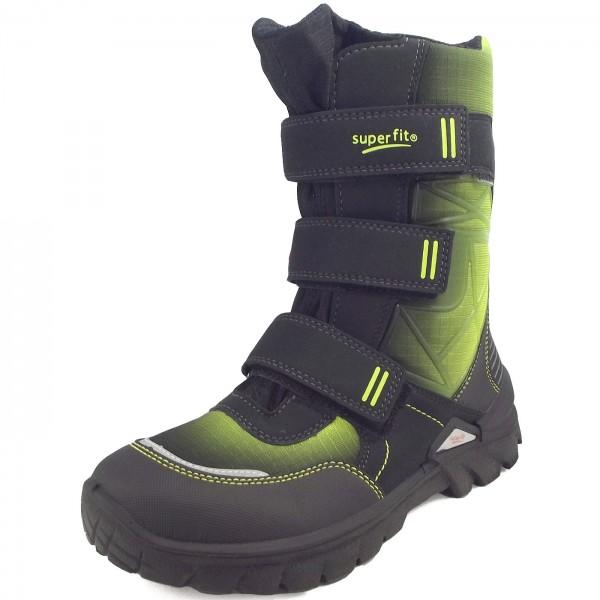 new product 0932c 52779 Superfit Gore-Tex Pollux Boy Winter Boots black/green (schwarz/multi)