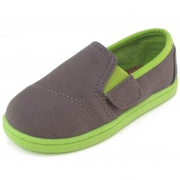 Toms Avalon Canvas Tn Kleinkinder Sneaker grau/grün (ash)