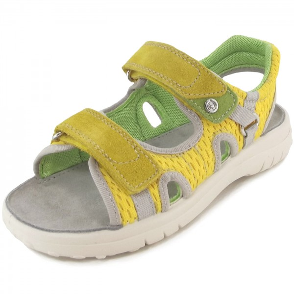 Naturino 5689 Kinder Sandale gelb/grün (giallo)