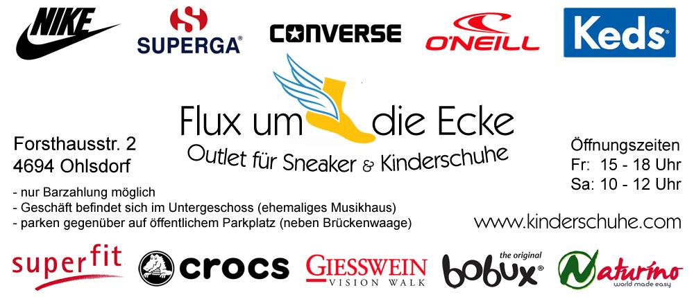 Outlet-Geschäft für Sneaker & Kinderschuhe