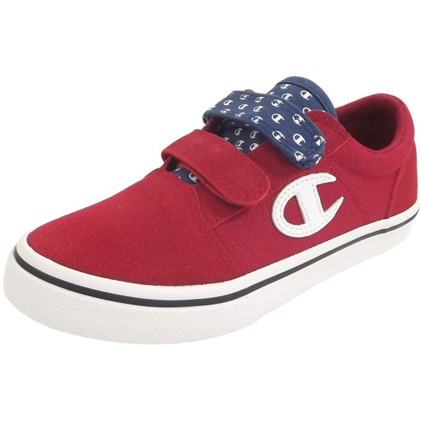 b9389f284690a Champion 360 Velcro Canvas Kinder Sneaker rot (red all over)