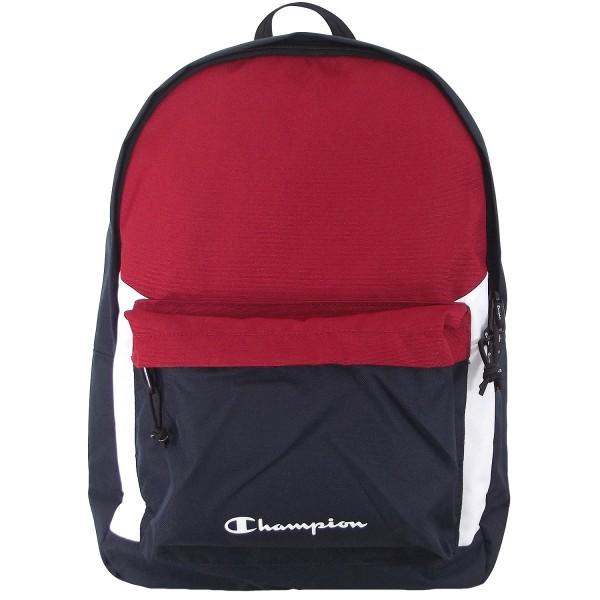 Champion Backpack 804882 Unisex Rucksack Navy/Rot/Weiß (CMR)