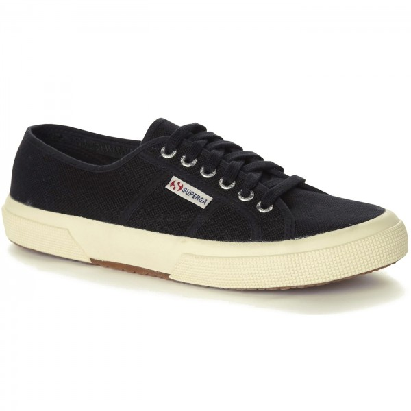 Superga 2750 Cotu Classic Unisex Sneaker schwarz (black)