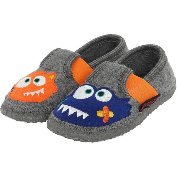 Giesswein Tarp Boy Indoor Slippers Grey Schiefer Indoor Slippers Kids Slippers Slippers Flux Online