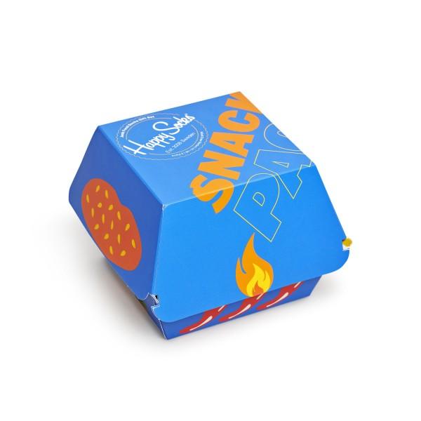 Happy Socks Junk Food Socks Gift Box 3-Pack Unisex Geschenk-Socken mehrfarbig