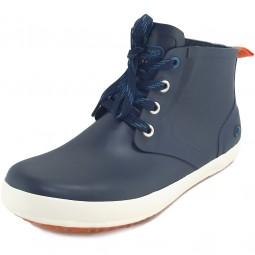 Viking Lillesand Jr Unisex Gummistiefel-Sneaker dunkelblau/orange (navy/orange)