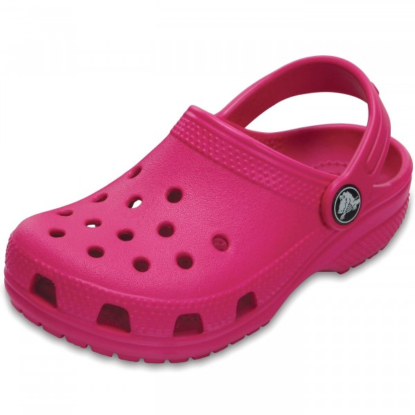 ff22f24ec93ab Crocs Classic Kids Mädchen Clogs candy pink