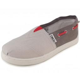 Toms Bimini Canvas Yt Kinder Bootsschuhe hellgrau/grau (grey)