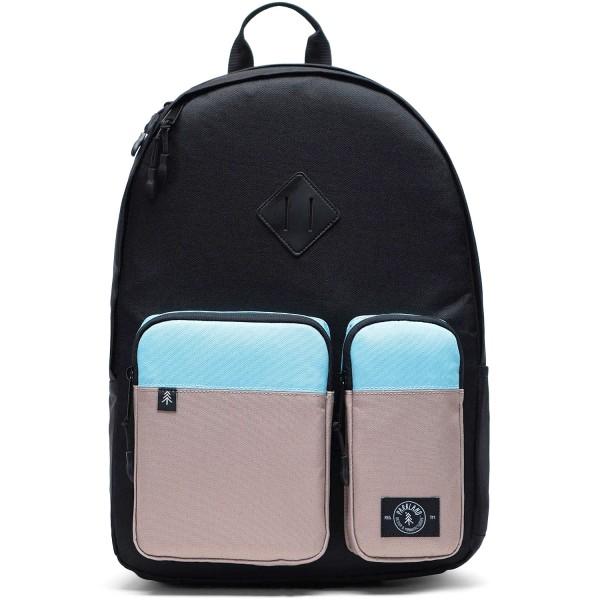 Parkland Academy Unisex Rucksack schwarz/beige/hellblau (mod)