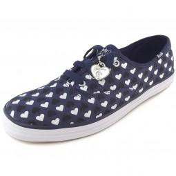 Keds Champion Taylor Swift Hearts Damen Sneaker dunkleblau/weiß (navy)