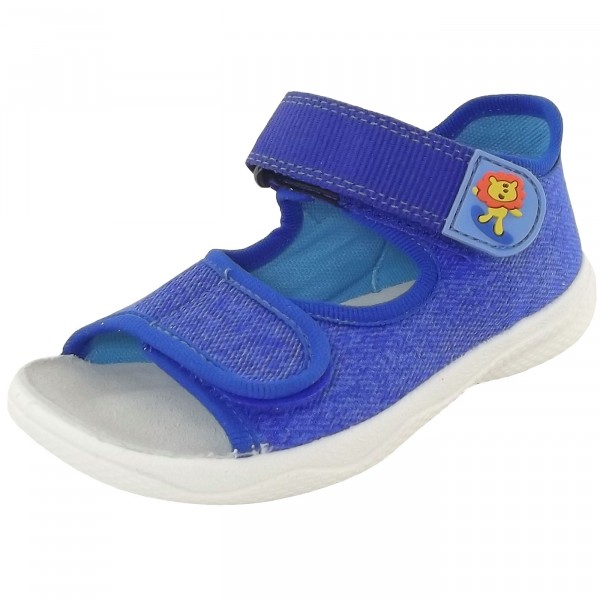 Superfit Polly Kleinkinder Sandale blau (bluet)