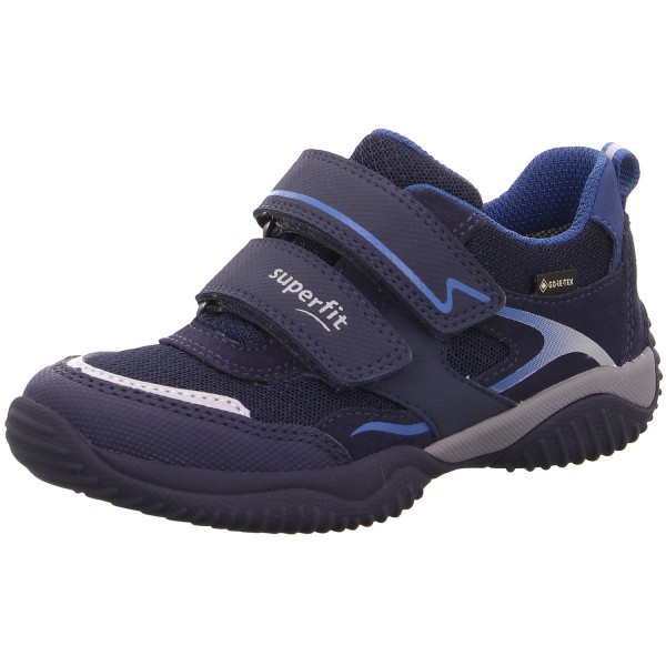 Superfit Gore-Tex Storm Kinder Sportschuhe Blau/Blau
