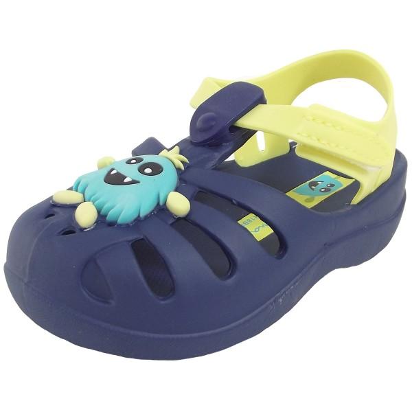 Ipanema Summer Baby Jungen Badesandale blau/gelb (blue/yellow)