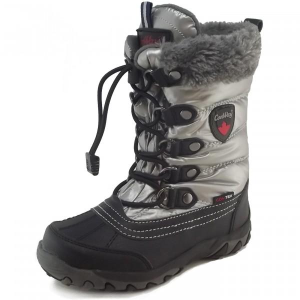 Conway ConTex Boots Husky Winterstiefel black/silver