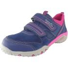 Superfit Sport4 Mädchen Sneaker blau/pink (water multi)