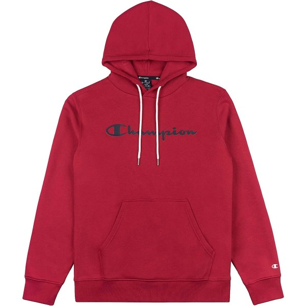 Champion Hooded Sweatshirt Mn Herren Kapuzenpullover Crimson Rot (CMR)