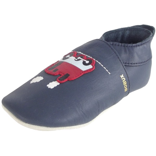Carriage Baby Crawling Shoes navy