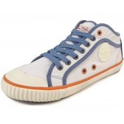 Pepe Jeans Industry Basic Damen Sneaker weiß (white)