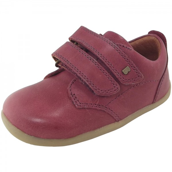 Bobux Step Up Port Kleinkinder Lauflern-Schuhe dunkelrot (dark red)