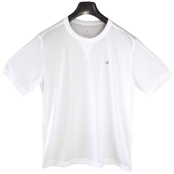 Champion Crew Neck Train Shirt Herren Laufshirt weiß (white)