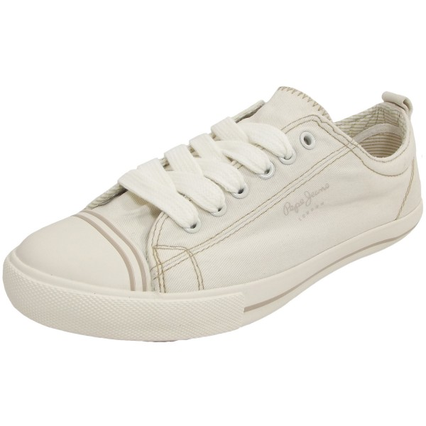 Pepe Jeans Gery Bass Damen Sneaker cremeweiß (off white)