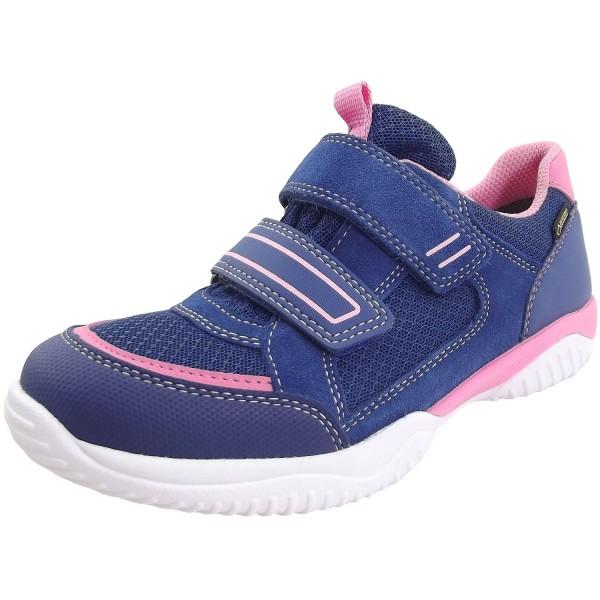 Superfit Gore-Tex Storm Mädchen Sportschuhe blau/rosa
