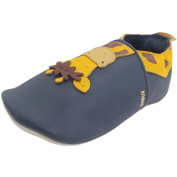 Bobux Giraffe Kleinkinder Krabbelschuhe dunkelblau (navy)