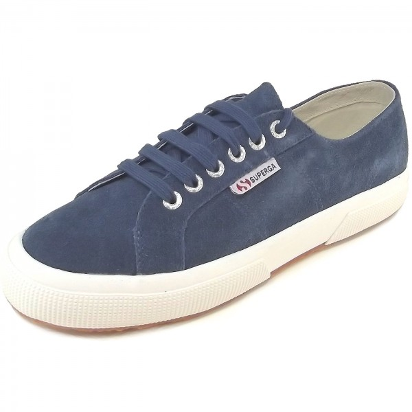 Superga 2750 Sueu Classic Unisex Sneaker dunkelblau (blue night shadow)