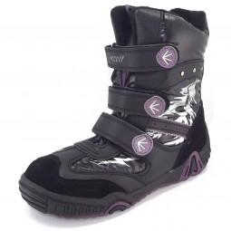 Woolf Woolf-Tex Boots schwarz/violett