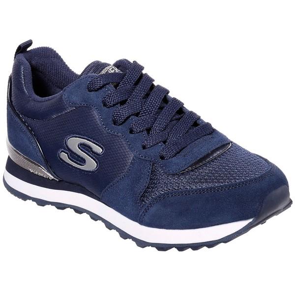 Skechers OG 85 Goldn Gurl Damen Retro-Sneaker Dunkelblau (Navy)