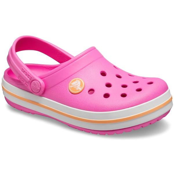 Crocs Crocband Kids Girl Clogs Electric Pink Cantaloupe Mules Clogs Kids Flux Online Crocband flip by crocs at zappos.com. crocs crocband kids girl clogs electric pink cantaloupe