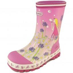 Viking Flower Girl Mädchen Gummistiefel pink multi