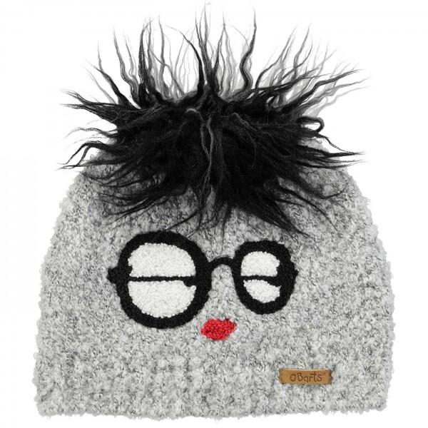 Barts Stanford Beanie Child Winter Hat heather grey  d407b363ed7