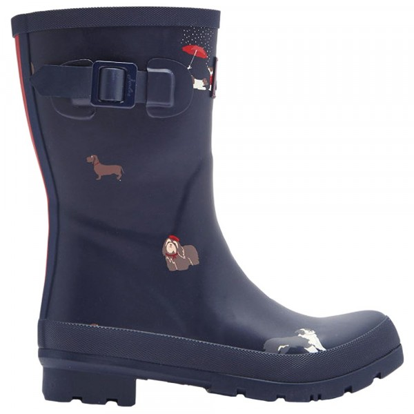 Tom Joule Molly Welly Damen Gummistiefel navy dogs