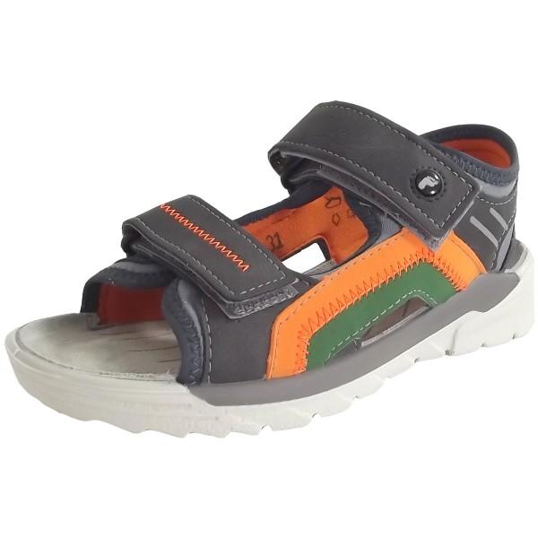Ricosta Lexi Jungen Trekking Sandale grigio/grau