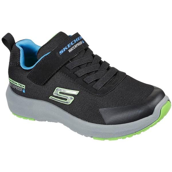 Skechers Dynamic Tread Hydrode Kinder Waterproof Sneaker Schwarz (Black)
