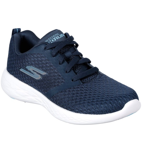 cheap for discount af445 fbe4b Skechers GOrun 600 Circulate Women Workout Shoes navy/white